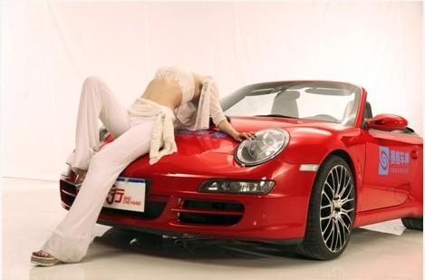 車模美女,來按我啊!