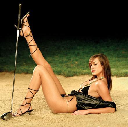 打高爾夫球