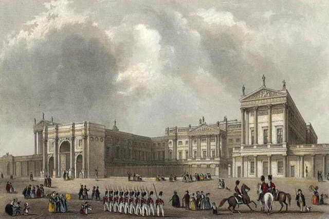 1837 Palace with Marble Arch