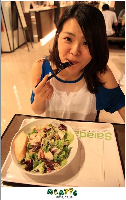 BLOGUSE【Saladay】台北大安|菜菜的繽紛世界,輕食漫談空間007