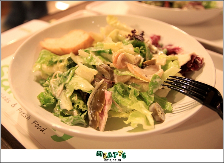 BLOGUSE【Saladay】台北大安|菜菜的繽紛世界,輕食漫談空間009