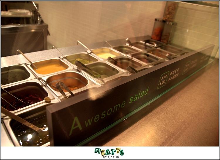 BLOGUSE【Saladay】台北大安|菜菜的繽紛世界,輕食漫談空間001
