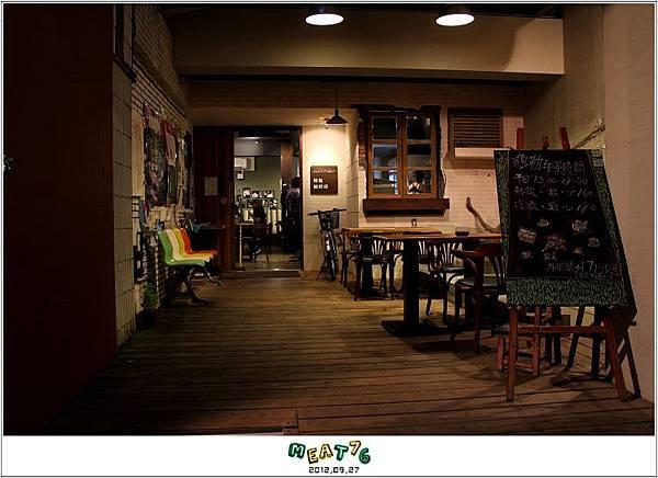 2012,09,27【穆勒咖啡館】台北中山大直實踐校區咖啡廳食記|CafeMuller的課後祕境003