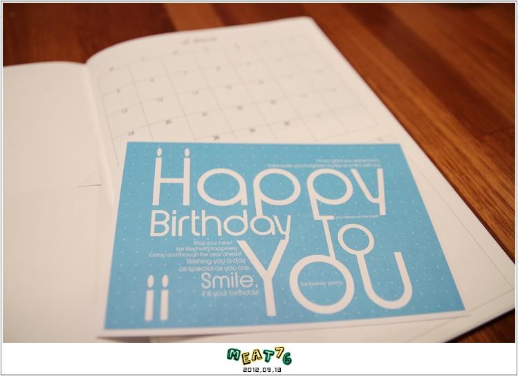 【寄思筆記本】2012年姊妹手帳入手開箱,滿滿明信片寄思念♥06
