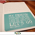 【寄思筆記本】2012年姊妹手帳入手開箱,滿滿明信片寄思念♥15