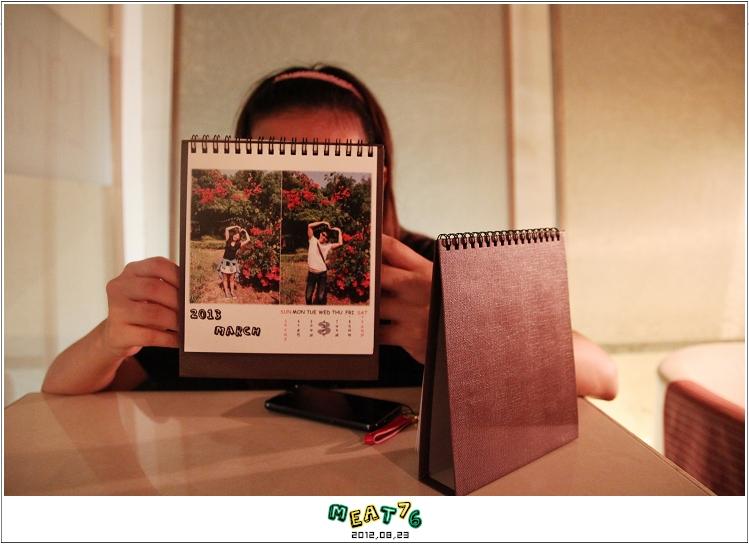 2012,08,23【手作系列 桌曆】菌菌跟賢賢的2012跨2013情侶紀念桌曆 ♥03
