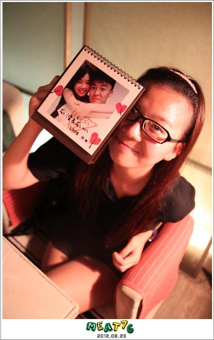 2012,08,23【手作系列 桌曆】菌菌跟賢賢的2012跨2013情侶紀念桌曆 ♥04