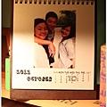 2012,08,23【手作系列|桌曆】菌菌跟賢賢的2012跨2013情侶紀念桌曆 ♥08