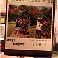 2012,08,23【手作系列|桌曆】菌菌跟賢賢的2012跨2013情侶紀念桌曆 ♥13