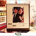 2012,08,23【手作系列|桌曆】菌菌跟賢賢的2012跨2013情侶紀念桌曆 ♥15