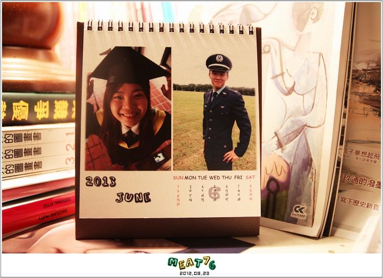 2012,08,23【手作系列 桌曆】菌菌跟賢賢的2012跨2013情侶紀念桌曆 ♥16