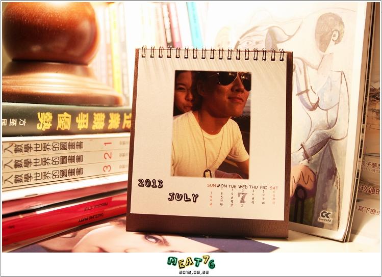 2012,08,23【手作系列 桌曆】菌菌跟賢賢的2012跨2013情侶紀念桌曆 ♥17