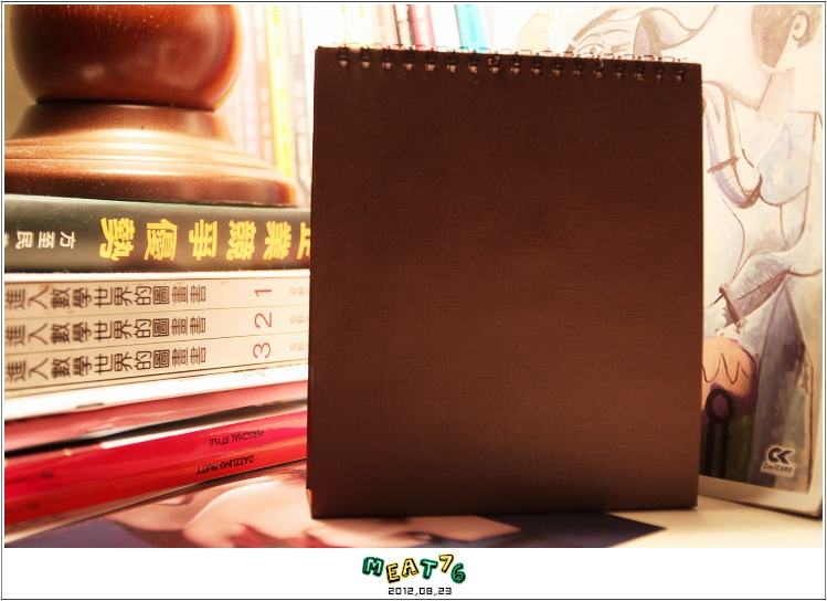 2012,08,23【手作系列 桌曆】菌菌跟賢賢的2012跨2013情侶紀念桌曆 ♥18