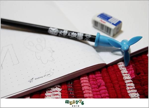 2012【手帳日記】2012年9月10月手帳分享|寄思筆記本06