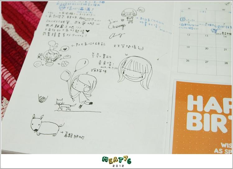 2012【手帳日記】2012年9月10月手帳分享|寄思筆記本11
