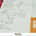 2012【手帳日記】2012年9月10月手帳分享 寄思筆記本11