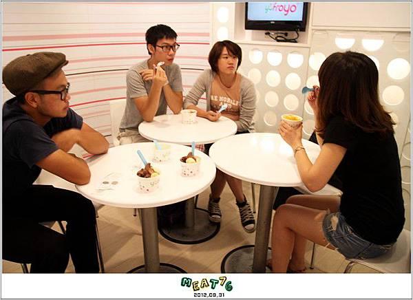 2012,08,31【YoFroyo】台北東區 冰淇淋店食記 綿密的零脂肪低卡優格冰淇淋,輕盈甜滋味014