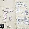 【手繪畫畫練習】2013-02米特手帳日記004|醜畫擺在前頭