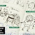 米特,味玩待敘部落格 © MEAT76|2013【手繪畫畫練習】2013-04米特手帳日記|繽紛的四月天005
