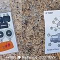 我是米特|台灣美食親子部落客©MEAT76|2017-11-29-3|【兒童玩具】麥當勞兒童餐玩具2017-11-29|搖擺頭躺漢堡慵懶拉拉熊Rilakkuma TOMICA多美小汽車NissanG-TRuma橘色019