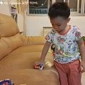 我是米特|台灣美食親子部落客©MEAT76|2017-11-29-3|【兒童玩具】麥當勞兒童餐玩具2017-11-29|搖擺頭躺漢堡慵懶拉拉熊Rilakkuma TOMICA多美小汽車NissanG-TRuma橘色028