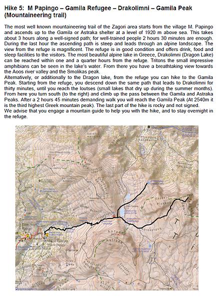 Trekking Route-by Aristi Mountain Resort