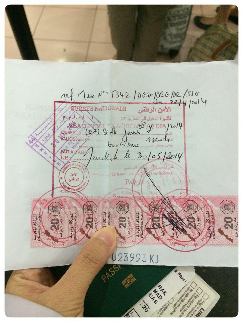 Morocco-Visa