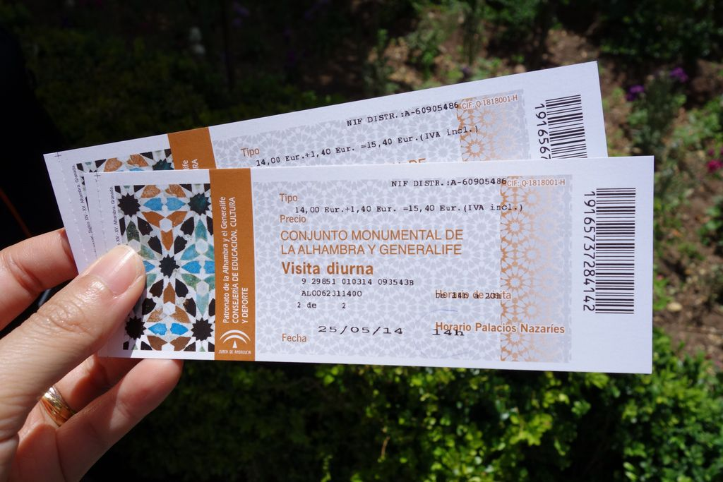 La Alhambra-Ticket
