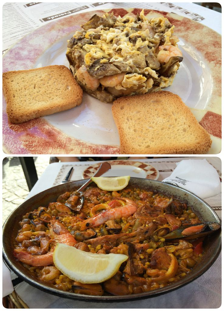 Granada-lunch