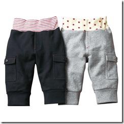 Nissen幼童休閒褲兩件組-灰 黑