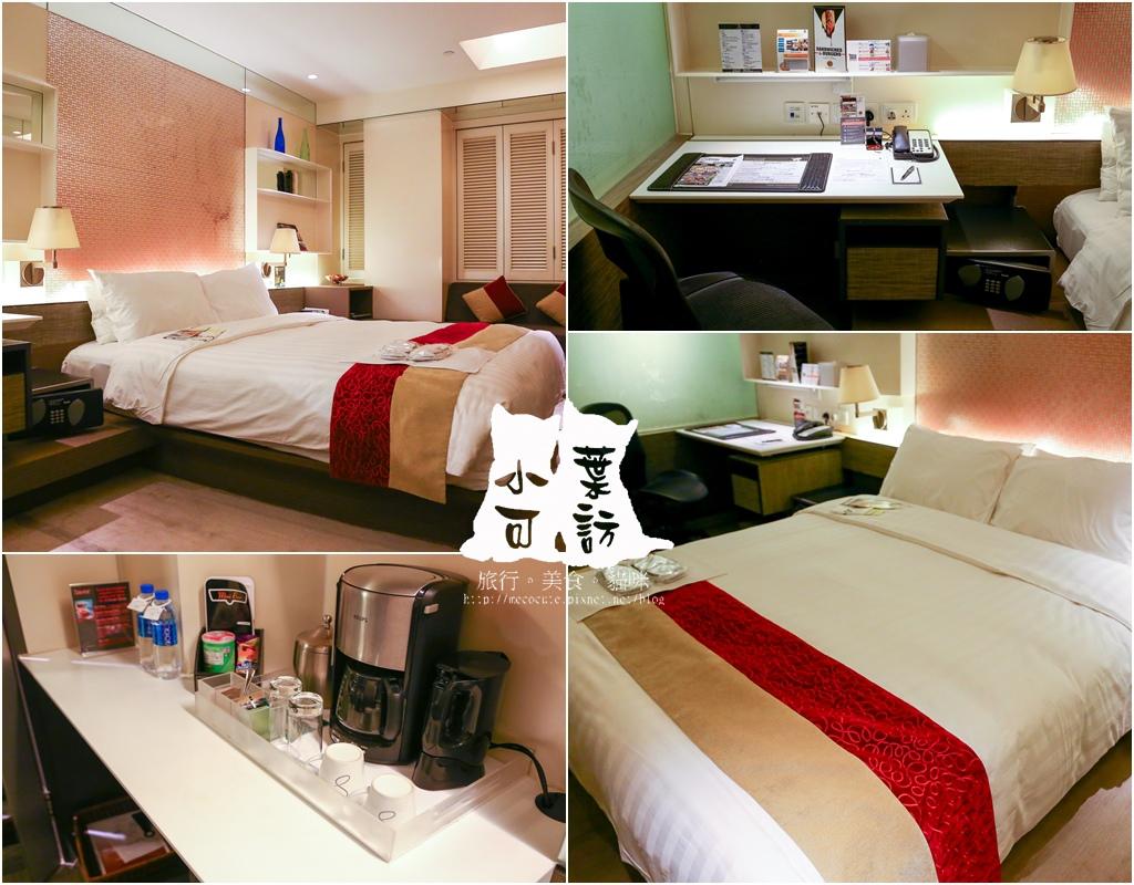 【香港自由行】香港住宿推薦,港鐵銅鑼灣站、時代廣場附近的「利景酒店」。