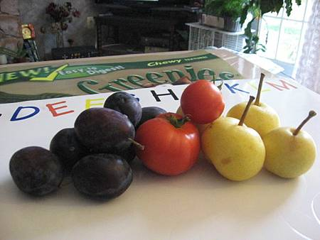 The Fruits from Backyard