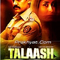 Talaash Release poster