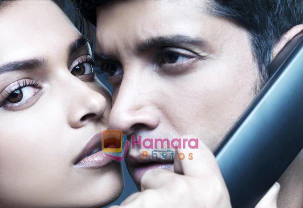 normal_Farhan Akhtar, Deepika Padukone in the still from movie Karthik Calling Karthik (6).jpg