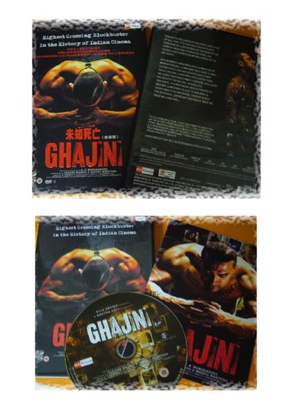 ghajini 中文dvd