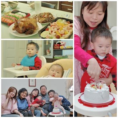 翔2歲慶生