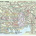 東京地鐵分布圖