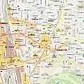 03北新宿周邊地圖