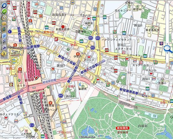03北新宿周邊地圖01
