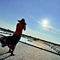 新竹城隍廟/竹塹餅/北門井仔腳瓦盤鹽田/桂林酥脆麵/海之冰/超大碗冰/西子灣