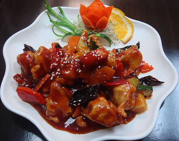 Spicy Ho-To Mushroom with cashew nuts