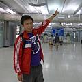 半夜3點鐘,曼谷轉機中