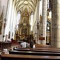 庫倫洛夫(17)-其實教堂內是不能拍照的...