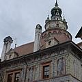 庫倫洛夫(39)-彩繪塔,庫倫洛夫裡的最高建築