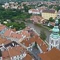 庫倫洛夫(40)-從彩繪塔看小鎮