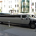Marriott Prague(3)-剛好遇到有人要辦婚禮,加長禮車耶