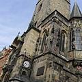 布拉格街景(20)-天文鐘到啦
