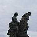 查理士橋(3)-上面有好多這種雕像