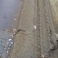 感覺很髒亂的布拉格街道