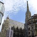 格拉本大街(5)-在整修中的聖.史蒂芬大教堂